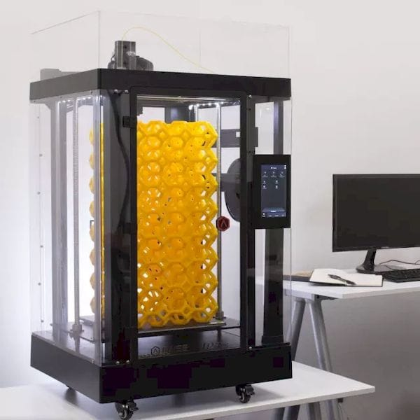 The N2 Plus 3D printer from Raise3D. (Image courtesy of Raise3D.)