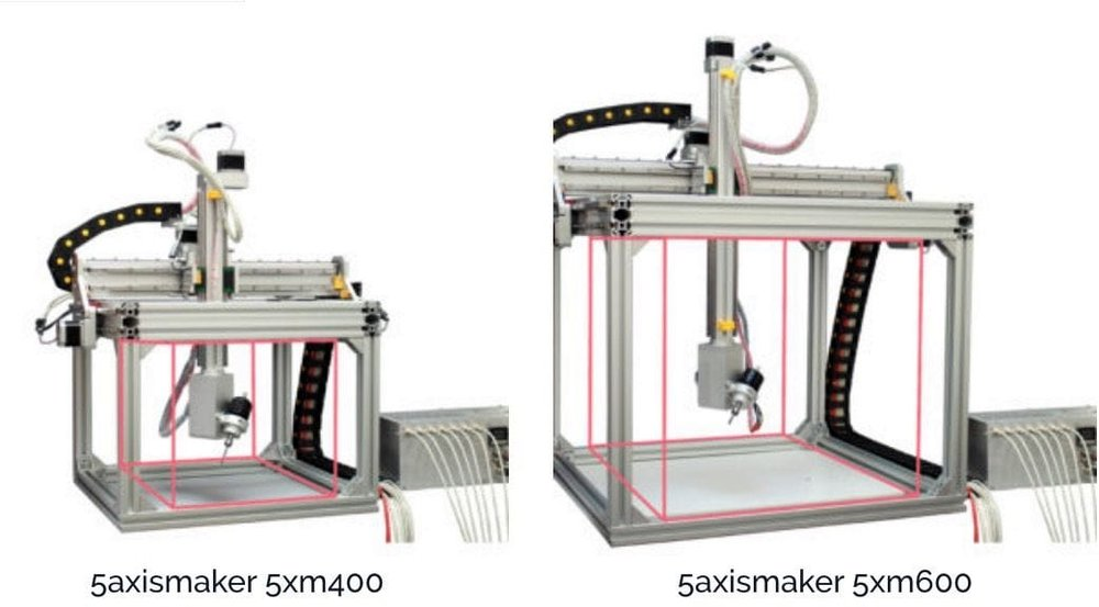 Two models of 5AXISMAKER