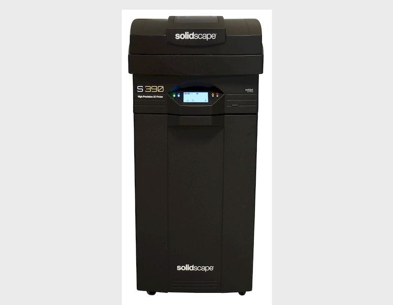 The new Solidscape S390 3D printer for jewelry