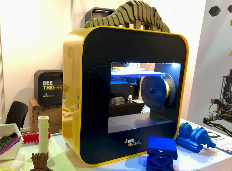 One of BEEVERYCREATIVE's educational 3D printers
