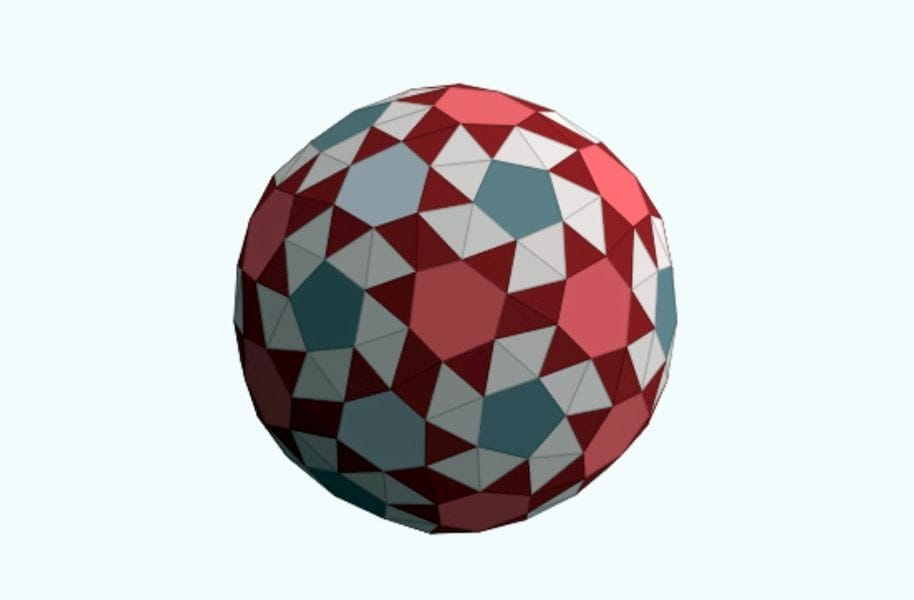An unusual generated polyhedron