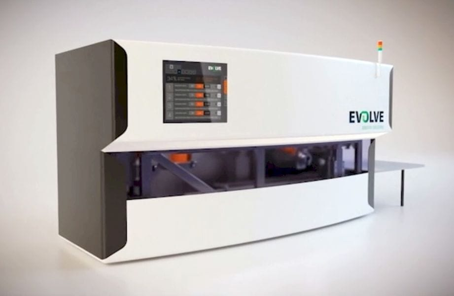 A proposed STEP 3D printing production system from Evolve Additive Solutions and Stratasys