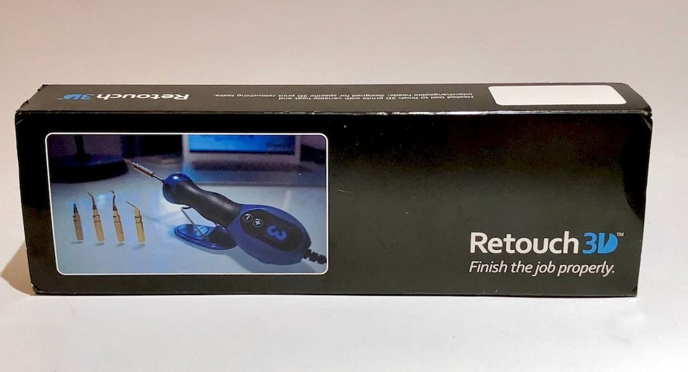 The Retouch3D finishing system