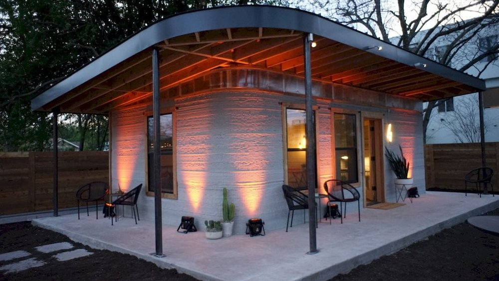 A 3D printed house?