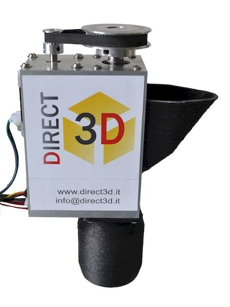 The pellet extruder from Direct3D