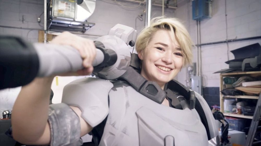 Fitting a 3D printed cosplay outfit