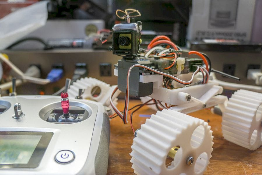"""A 3D printed """"Planetary Rover"""""""
