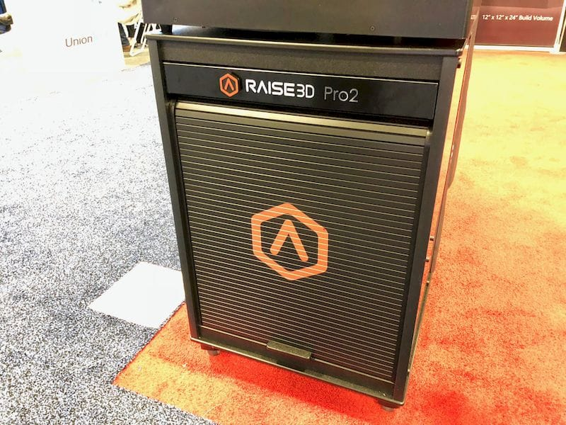 A custom stand for the Raise3D Pro2 series