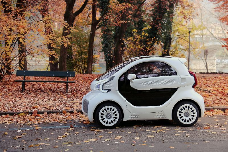 The XEV LSEV is powered by PolyMaker materials