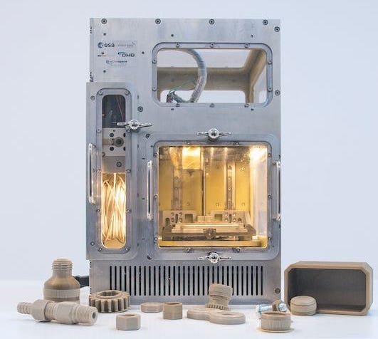 The MELT space-rated 3D printer