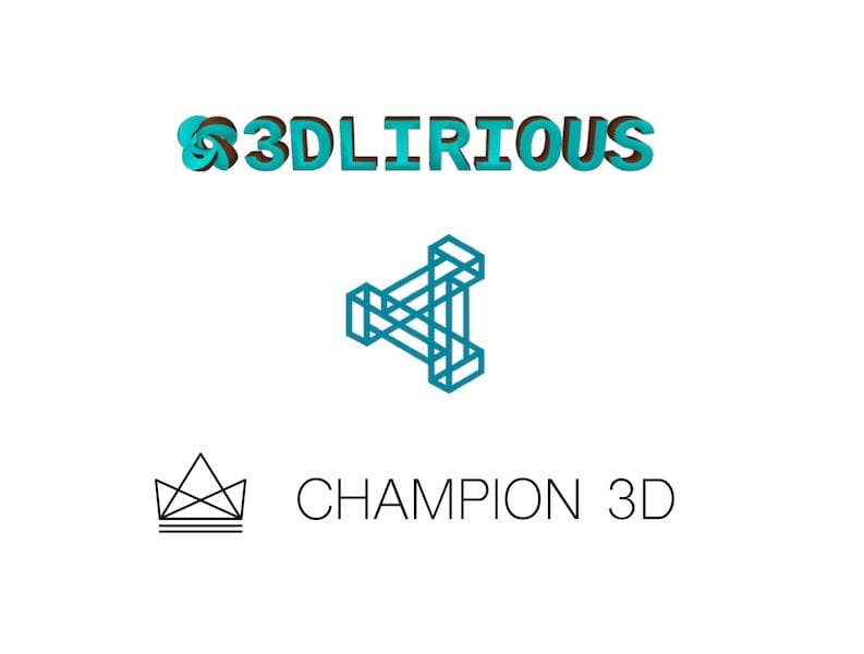 Three small regional 3D print services - of many, many more