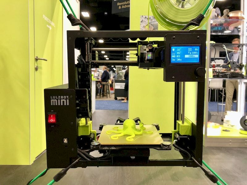 The LulzBot Mini 2 desktop 3D printer