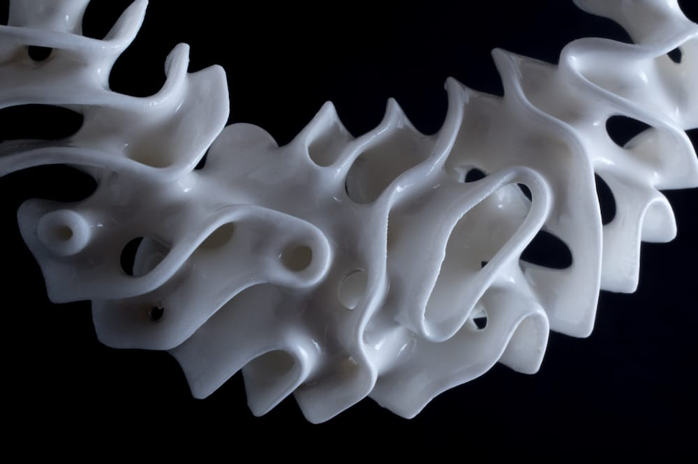 Some amazing 3D printed ceramic jewelry - but what did it take to get there?