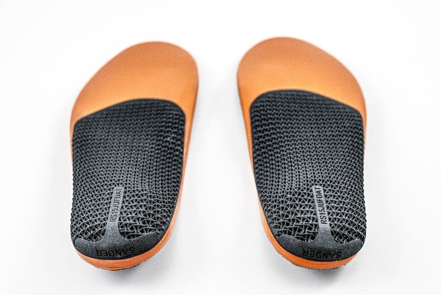 3D printed insoles from RS Print, HP and Materialise