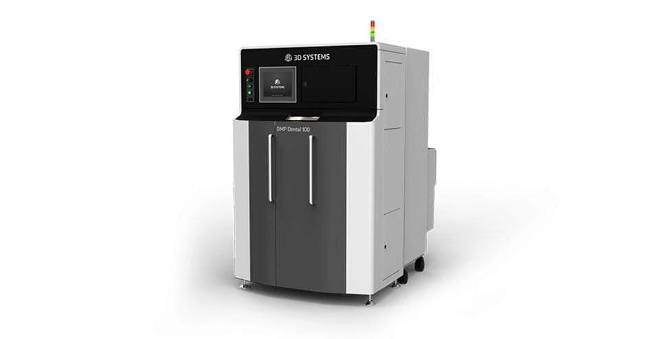The new DMP Dental 100 3D metal printer from 3D Systems