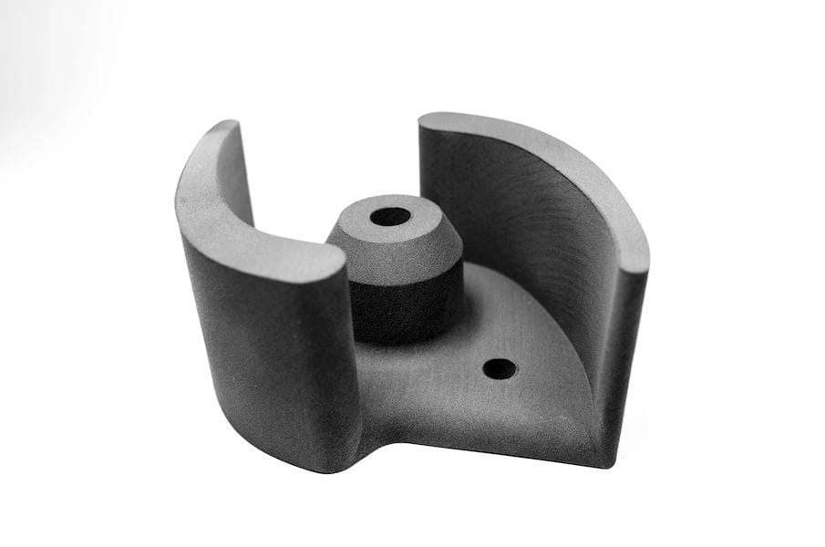 A 3D printed water pump impeller, created through multiple prototype iterations