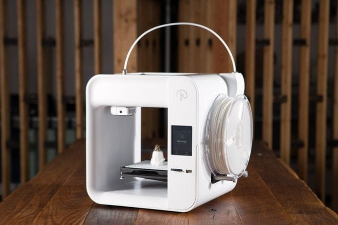 The still-to-be-shipped low-cost Obsidian 3D printer