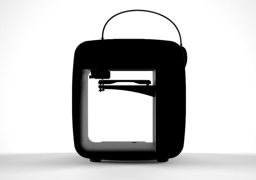 A view of the Furling 3D printer, which seems to be quite similar to the Obsidian design