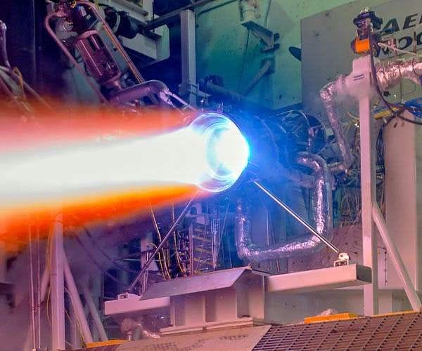 Hot fire testing of a 3D printed rocket nozzle