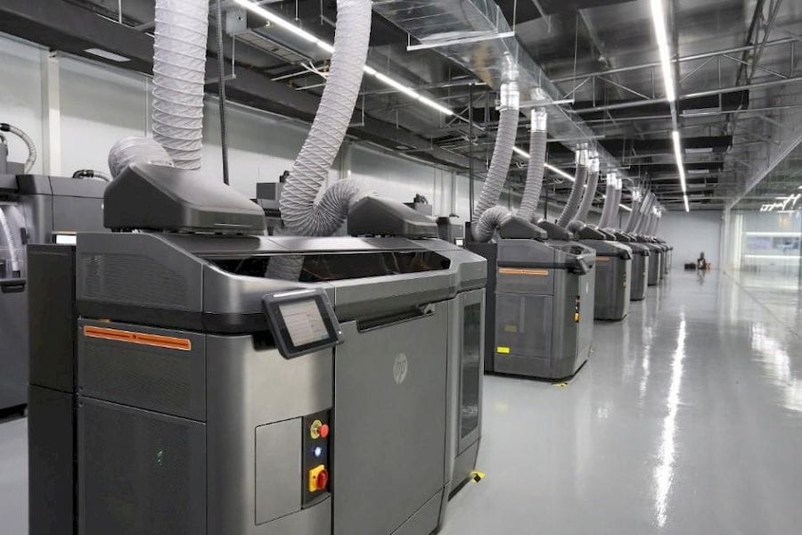 HP's new MJF-powered 3D print production center in China