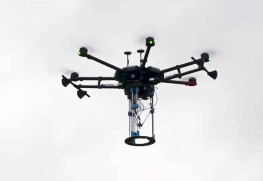 The pothole-filling drone/3D printer aloft