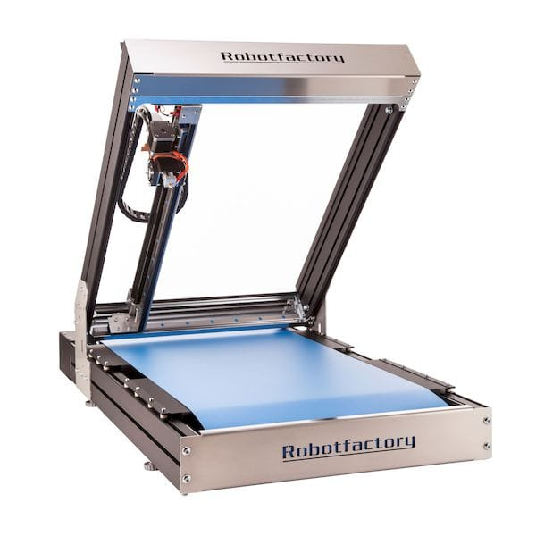 The Sliding 3D infinite build 3D printer