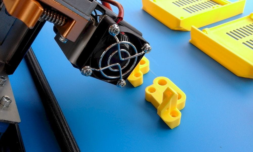 The Sliding 3D printer prints at an angle