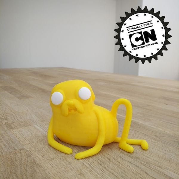 Cartoon Network's Adventure Time Jake now appears on MyMiniFactory