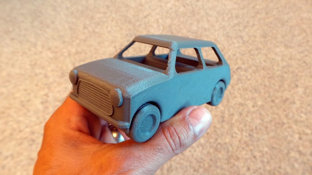 Automobiles made better with 3D printing (image source)
