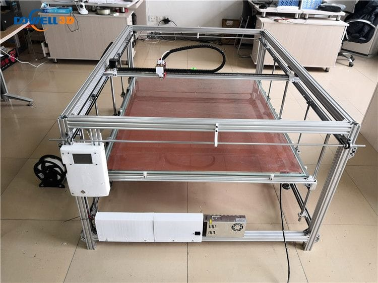 One of the Dowell 3D DL series of large format 3D printers