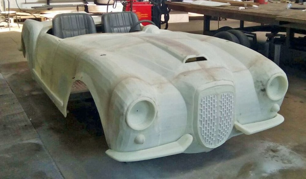 The 3D printed flying car under development