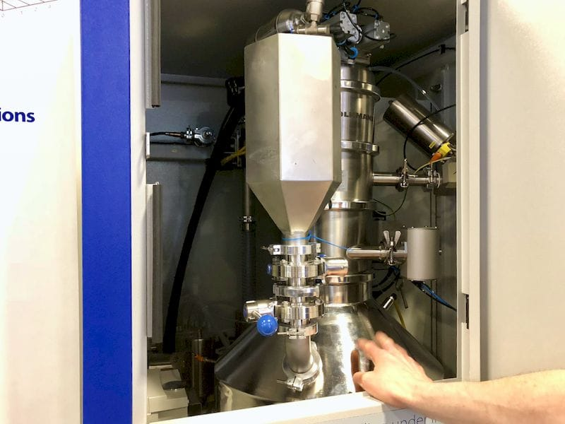 Inside SLM Solutions' new PSV powder management unit