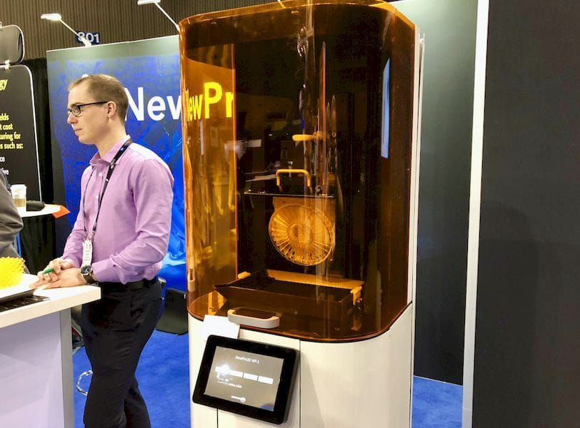 The ultra-fast NewPro3D resin-based 3D printer