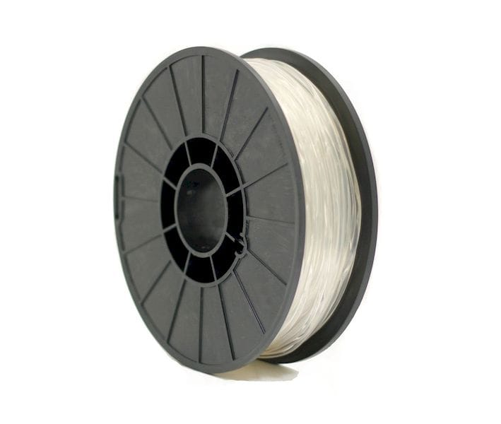 A spool of Essentium's new TPU 80A flexible 3D printer filament