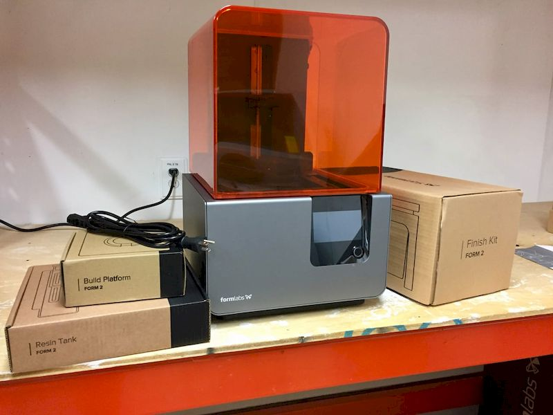 Formlabs' current flagship 3D printer, the Form 2