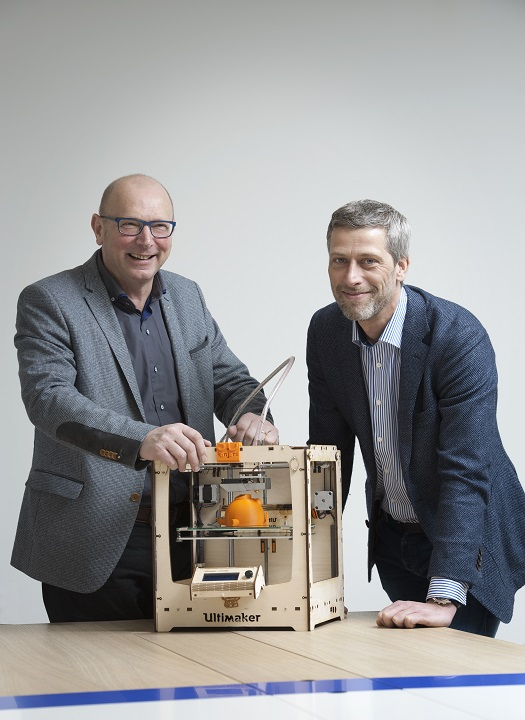 Left: Jos Kok, Right: Remco Liefting. Owners, 3Dkanjers [Image: 3Dkanjers]