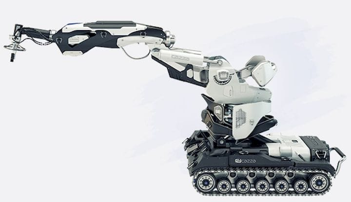 The X1core construction 3D printing robot [Source: Cazza]