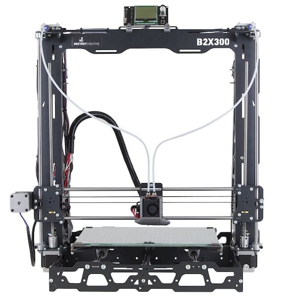 BEEVERYCREATIVE's new desktop 3D printer kit, the B2X300 [Source: BEEVERYCREATIVE']