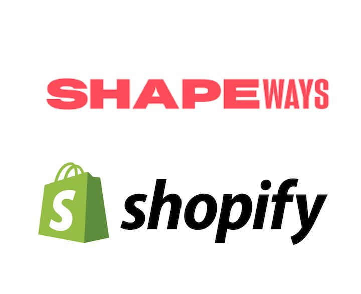 Shapeways now integrates directly with Shopify [Source: Fabbaloo]
