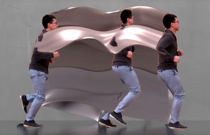 Capturing the motion of a jogger [Source: MIT]