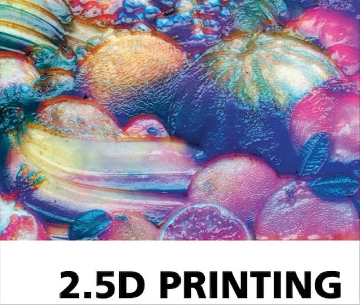Could 2.5D printing techniques be used in 3D printing? [Source: Amazon]