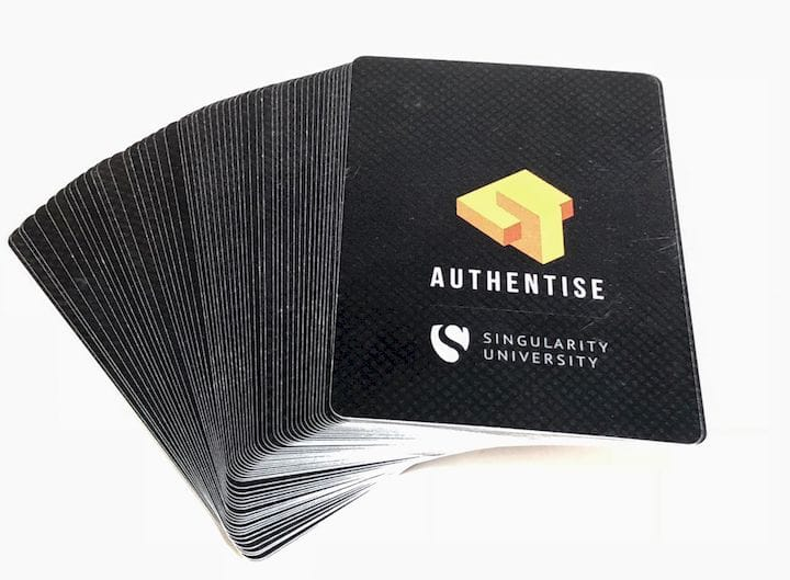 Authentise's 3D printing card deck [Source: Fabbaloo]