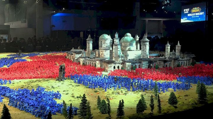 Thousands of 3D printed WoW characters [Source: imgur]