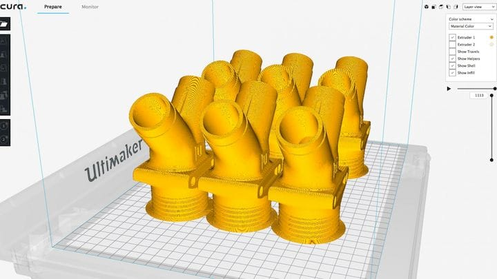 Cura 3.5 has a number of interesting improvements [Source: Ultimaker]