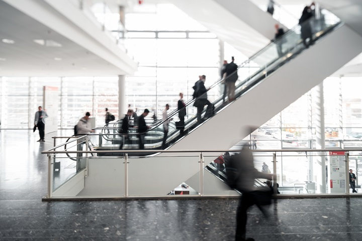 We'll be spending a lot of time on these escalators next month. [Image: formnext]