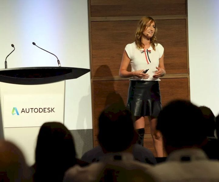 Denise Schindler, keynote speaker at Accelerate 2018 in Toronto. [Source: ENGINEERING.com]