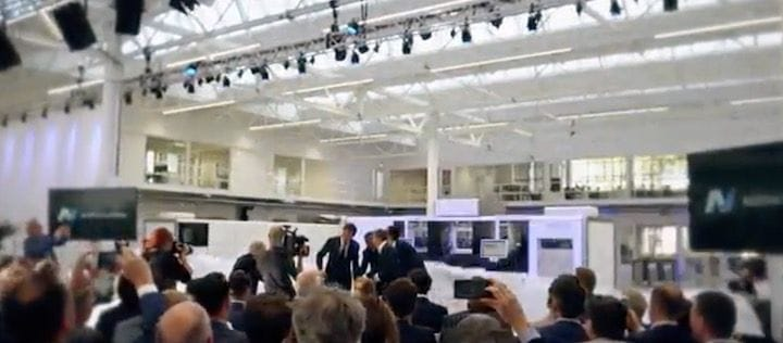 Opening a new 3D printer manufacturing plant [Source: Additive Industries]