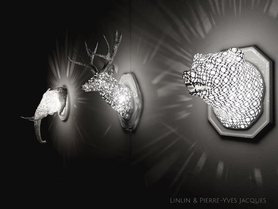 'Animal Lace' designed by Linlin and Pierre-Yves Jacques [Source:  Design Swan ]