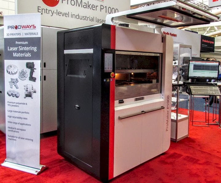One of Prodways Group's many industrial 3D printers [Source: Fabbaloo]