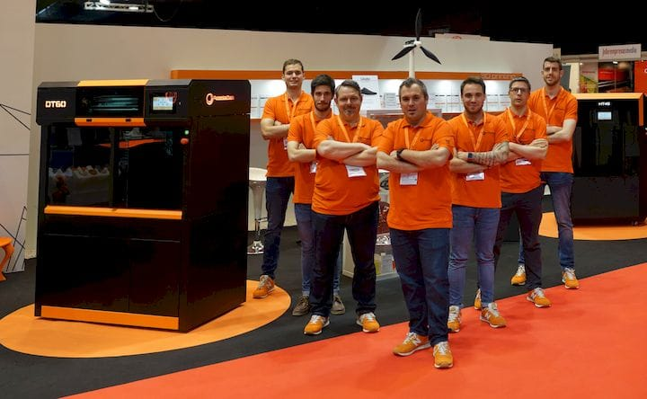 The team behind the Dynamical Tools industrial 3D printers [Source: Advanced Production Tools S.A]